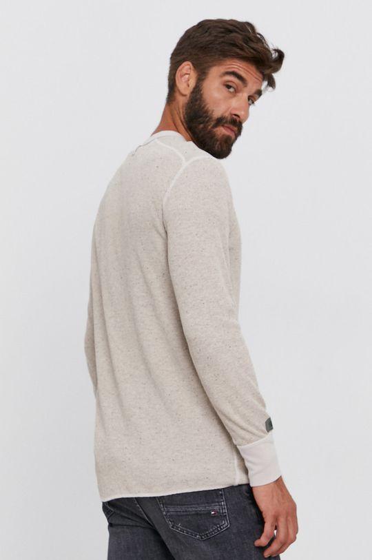 G-Star Raw - Tričko s dlouhým rukávem  Hlavní materiál: 58% Bavlna, 3% Elastan, 39% Recyklovaný polyester Stahovák: 58% Bavlna, 3% Elastan, 39% Recyklovaný polyester