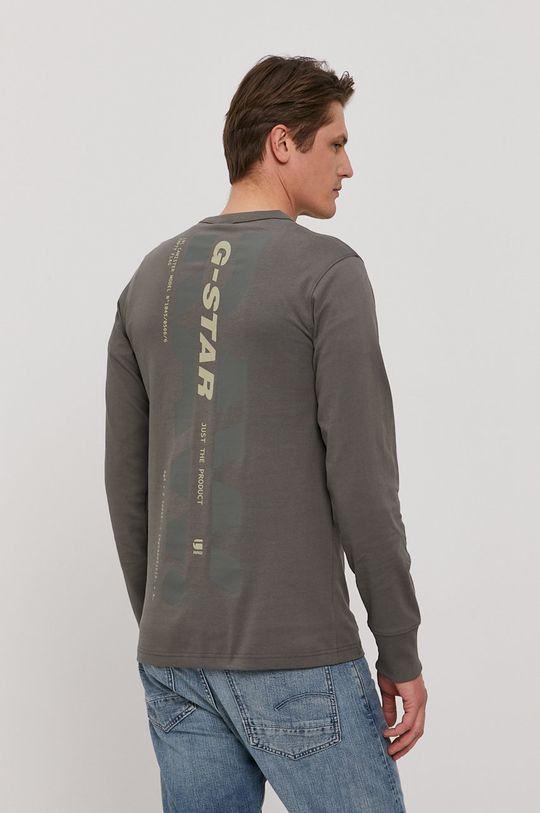 G-Star Raw - Tričko s dlouhým rukávem  100% Organická bavlna