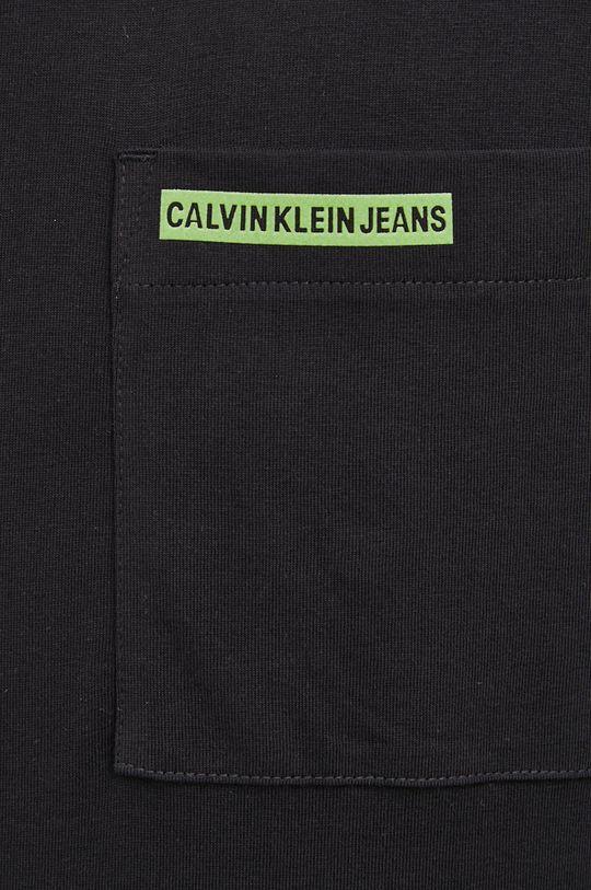 Calvin Klein Jeans - Longsleeve bawełniany Męski