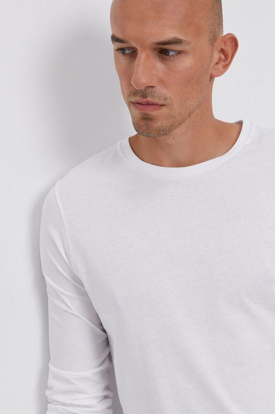 bílá Tommy Hilfiger - Tričko s dlouhým rukávem