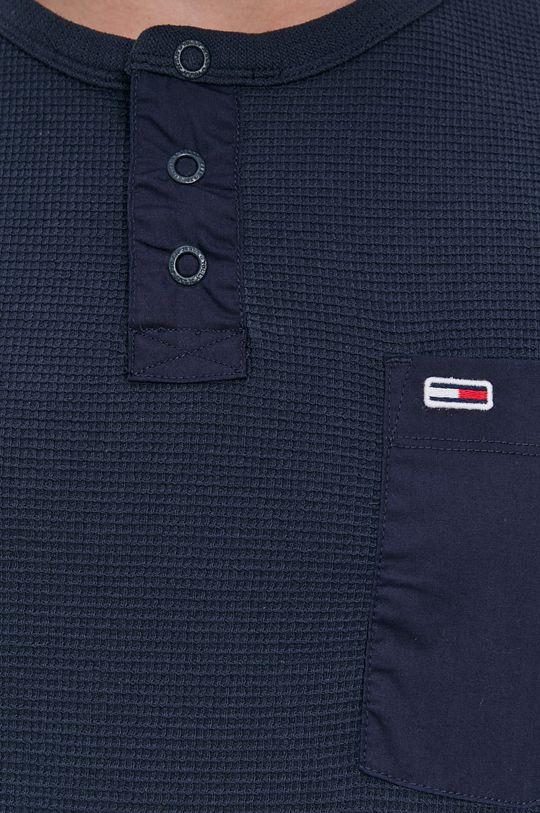 Tommy Jeans - Tričko s dlouhým rukávem Pánský