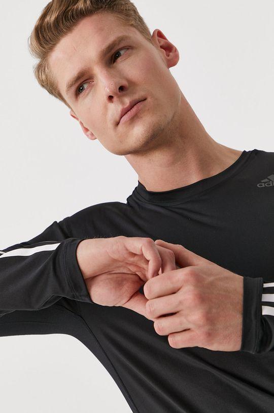 negru adidas Performance - Longsleeve