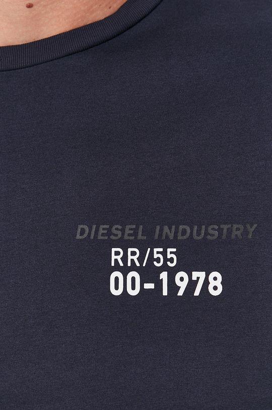 Diesel - Longsleeve bawełniany Męski