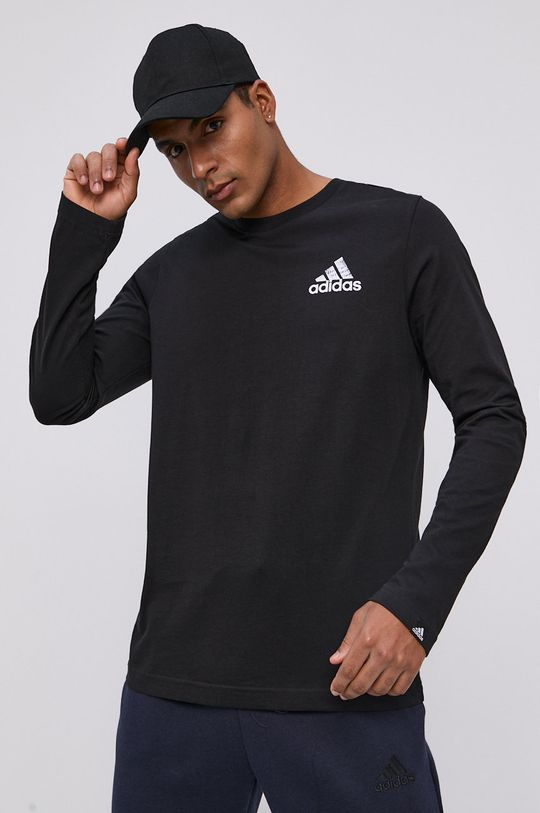 adidas - Longsleeve czarny