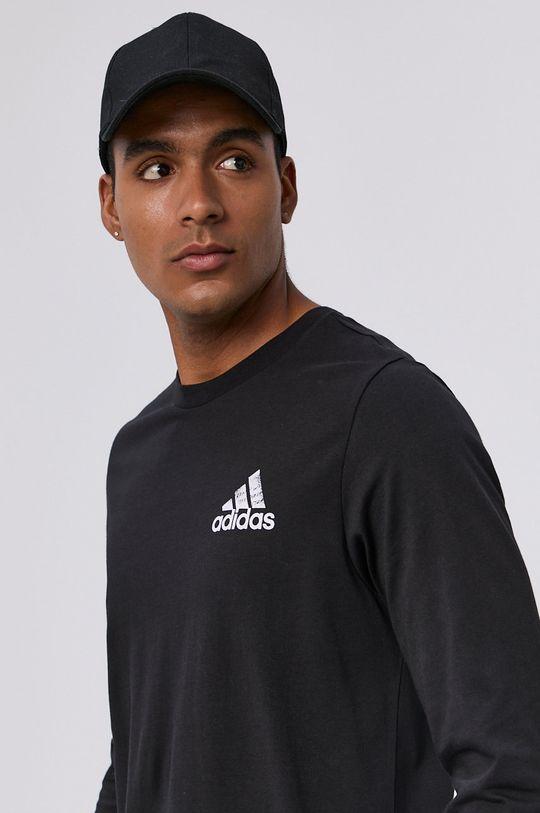 czarny adidas - Longsleeve
