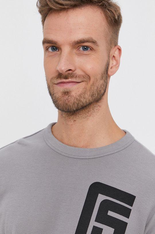 šedá G-Star Raw - Tričko s dlouhým rukávem