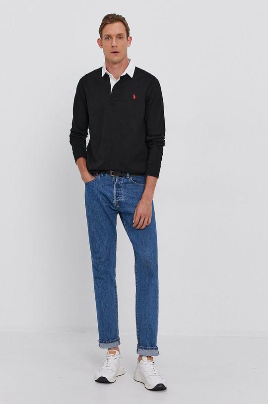 Polo Ralph Lauren - Longsleeve bawełniany czarny