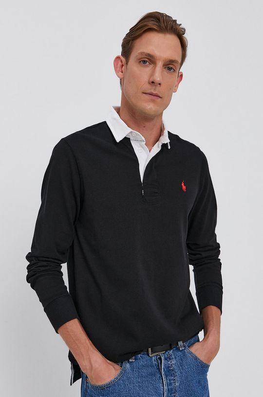 czarny Polo Ralph Lauren - Longsleeve bawełniany