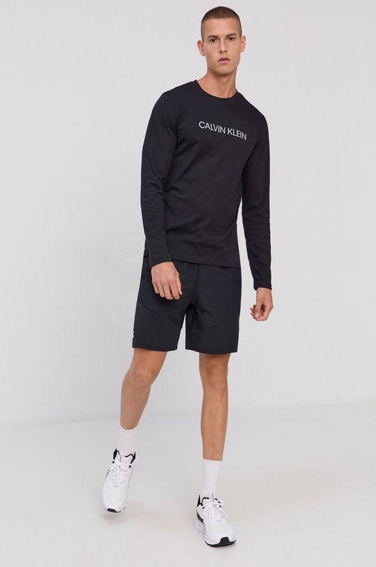 negru Calvin Klein Performance - Longsleeve De bărbați