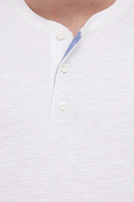 biały Lee - Longsleeve bawełniany