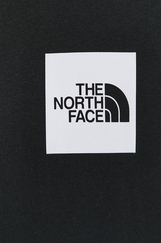 The North Face - Longsleeve bawełniany Męski
