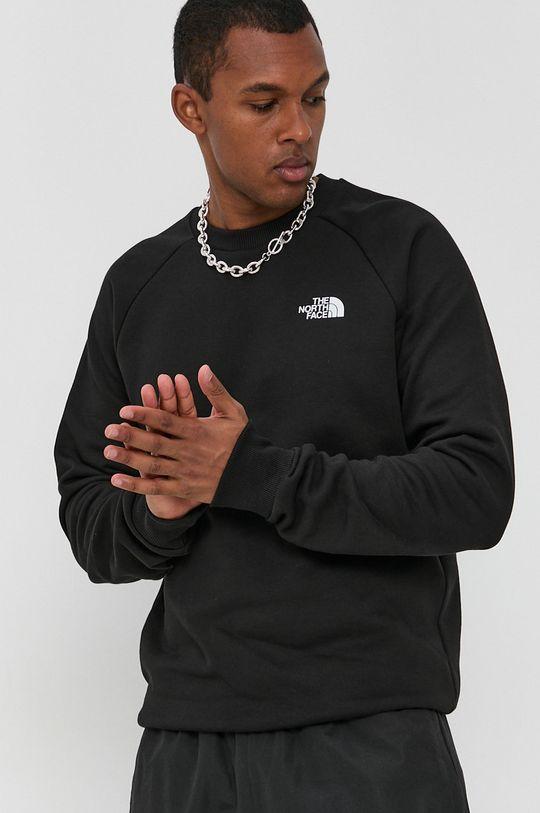 czarny The North Face - Bluza bawełniana Męski