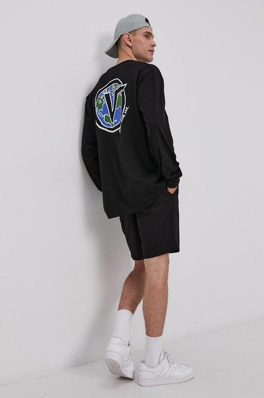 černá Vans - Tričko s dlouhým rukávem Pánský