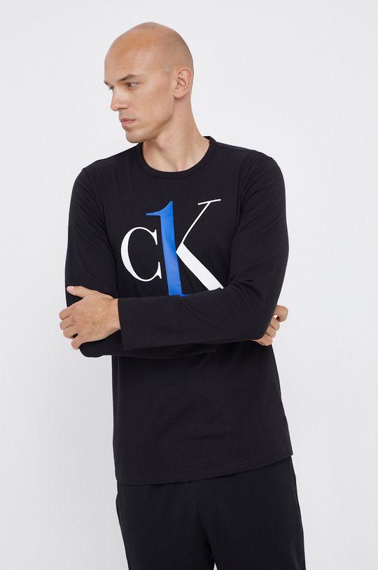Calvin Klein Underwear - Pyžamové tričko s dlouhým rukávem černá
