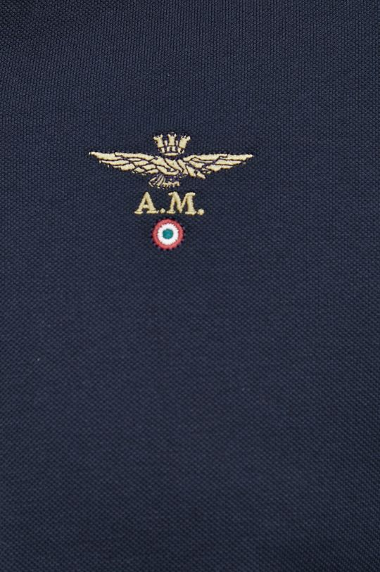 Aeronautica Militare - Longsleeve bawełniany Męski