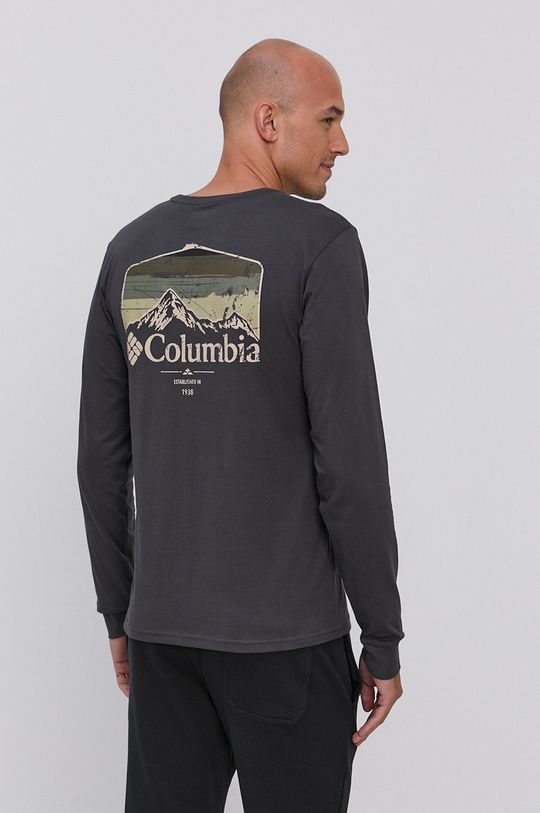 Columbia - Tričko s dlouhým rukávem  100% Organická bavlna