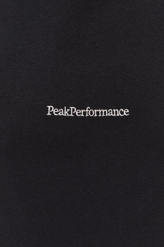 Peak Performance - Bavlnené tričko s dlhým rukávom Pánsky