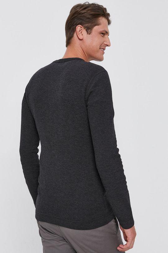 Boss - Tričko s dlouhým rukávem Boss Casual  100% Bavlna