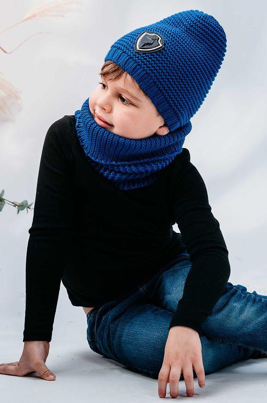 niebieski Jamiks - Czapka dziecięca Kelvin Chłopięcy