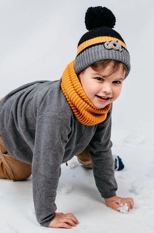 žltá Jamiks - Detská čiapka Knox Chlapčenský