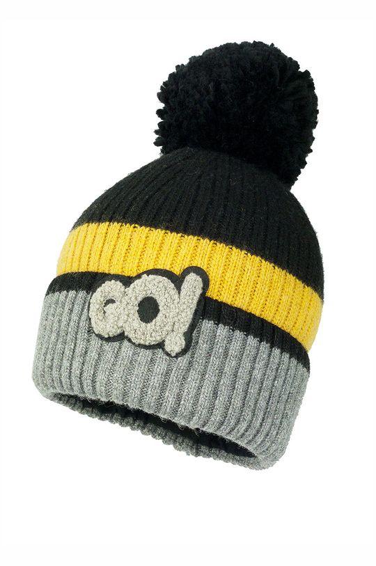 Jamiks - Detská čiapka Knox žltá