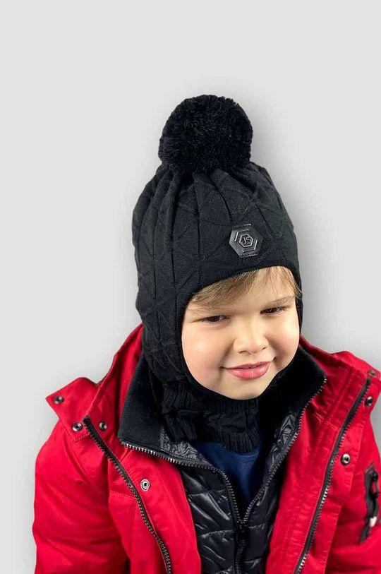 negru Jamiks - Fular circular copii Luther De băieți