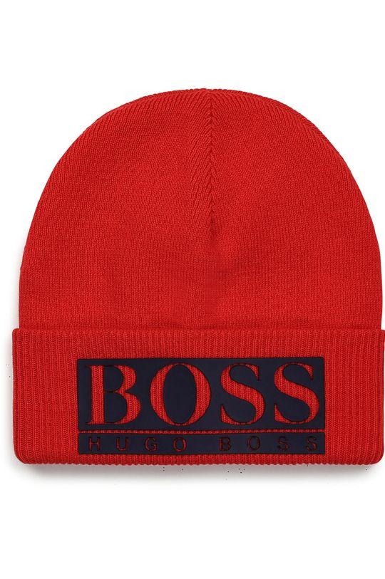 červená Boss - Detská čiapka Chlapčenský