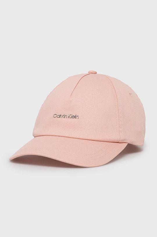 ružová Calvin Klein - Čiapka Dámsky