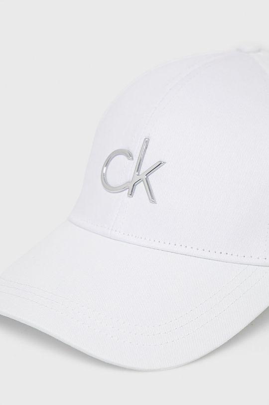 Calvin Klein - Czapka biały