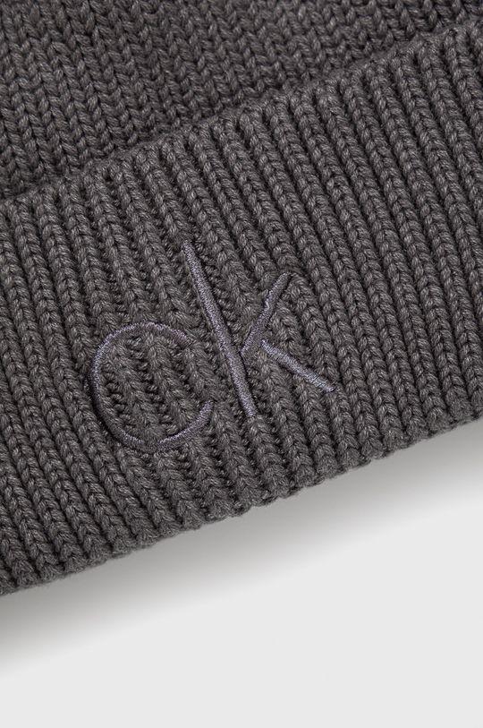 Calvin Klein - Czapka 50 % Akryl, 50 % Bawełna