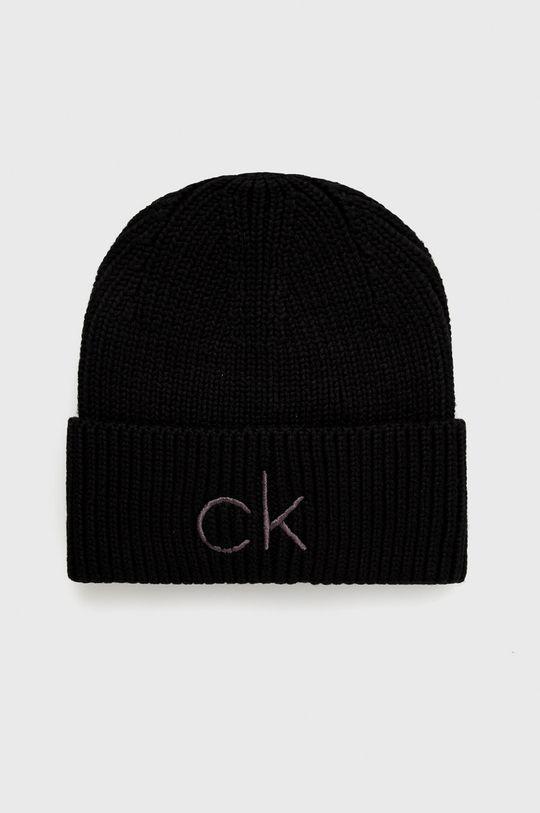 czarny Calvin Klein - Czapka Damski