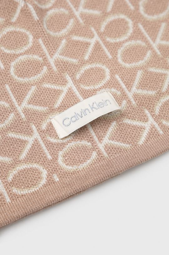 Calvin Klein - Czapka 29 % Akryl, 3 % Elastan, 68 % Wiskoza