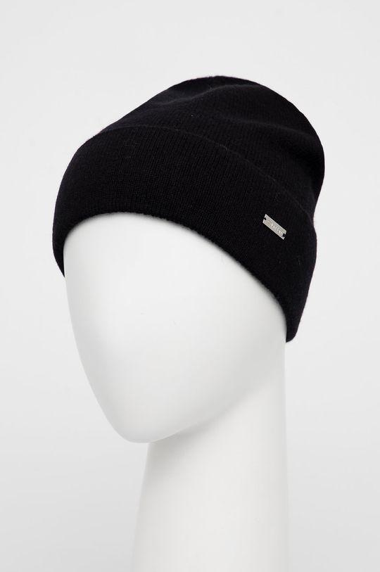 Calvin Klein - Czapka wełniana czarny