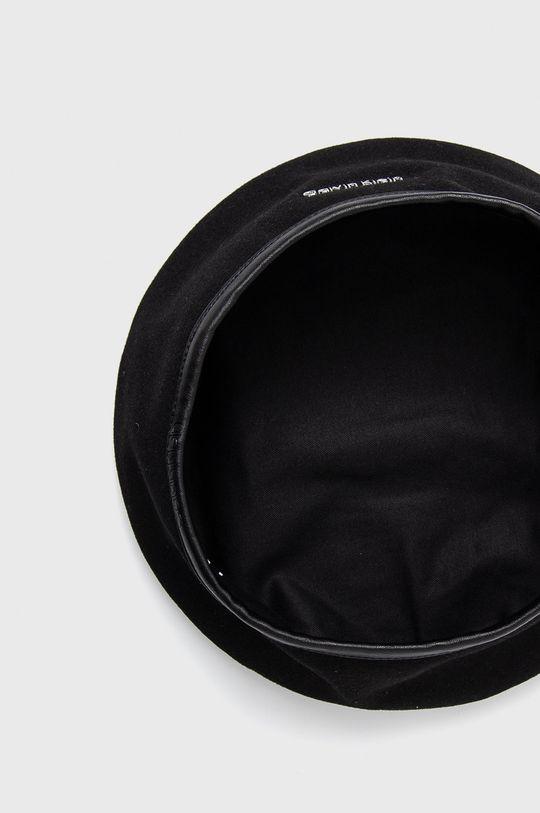 Calvin Klein - Kaszkiet wełniany Podszewka: 100 % Bawełna, Materiał zasadniczy: 50 % Poliester, 50 % Wełna