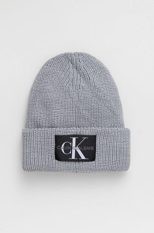 jasny szary Calvin Klein Jeans - Czapka Damski