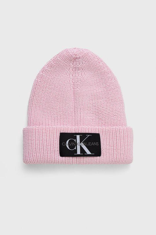różowy Calvin Klein Jeans - Czapka Damski