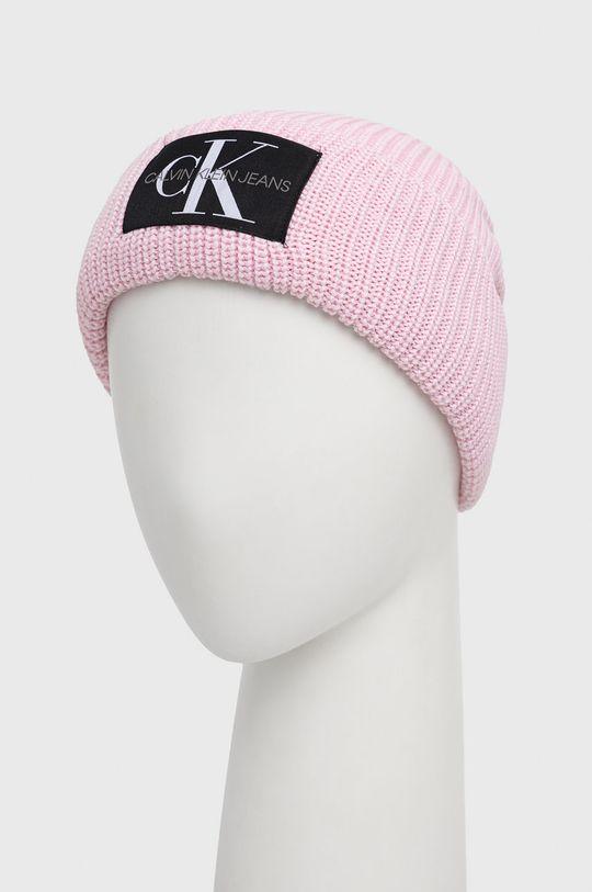 Calvin Klein Jeans - Czapka różowy