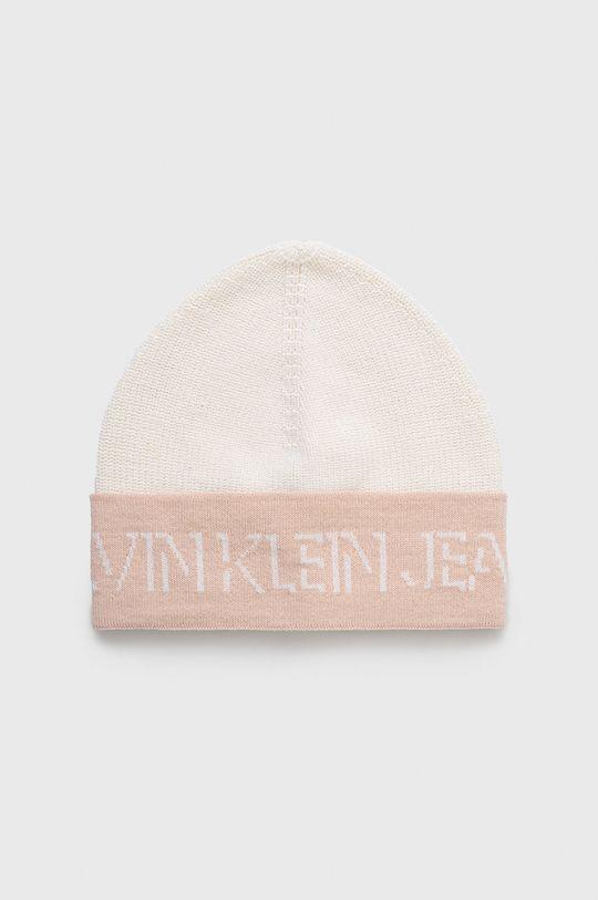 różowy Calvin Klein Jeans - Czapka wełniana Damski
