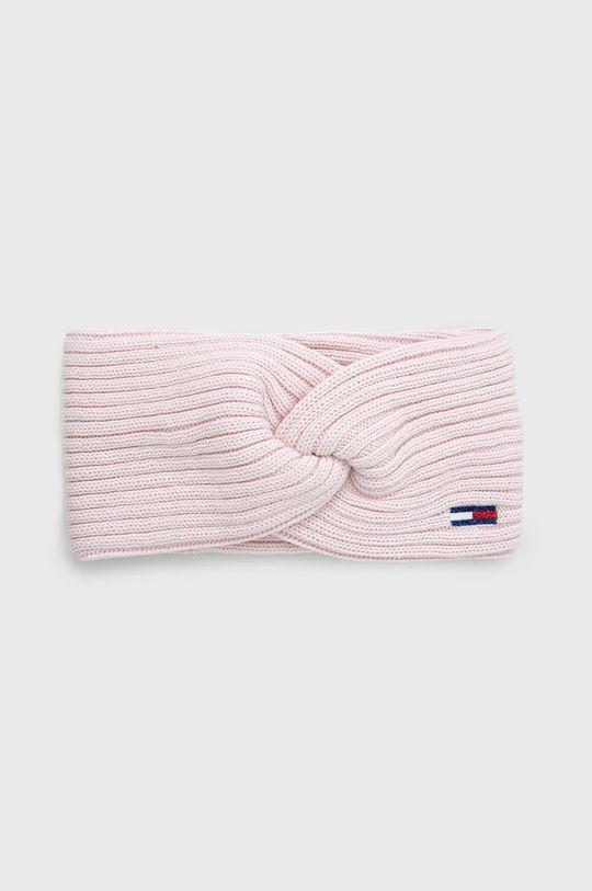 pastelowy różowy Tommy Jeans - Opaska Damski