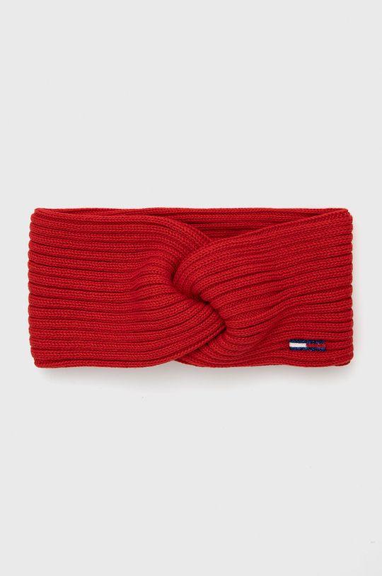 czerwony Tommy Jeans - Opaska Damski