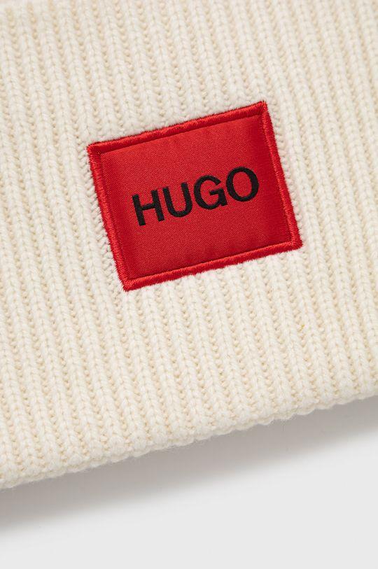 Hugo - Czapka kremowy