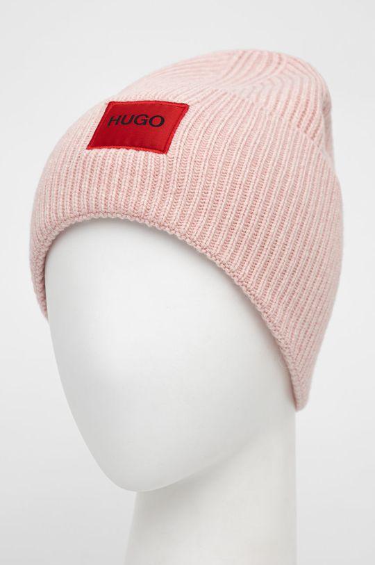 Hugo - Czapka różowy