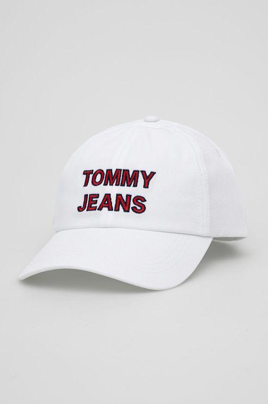 bílá Tommy Jeans - Čepice Dámský
