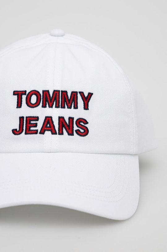 Tommy Jeans - Čepice bílá