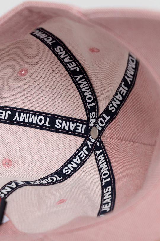 różowy Tommy Jeans - Czapka