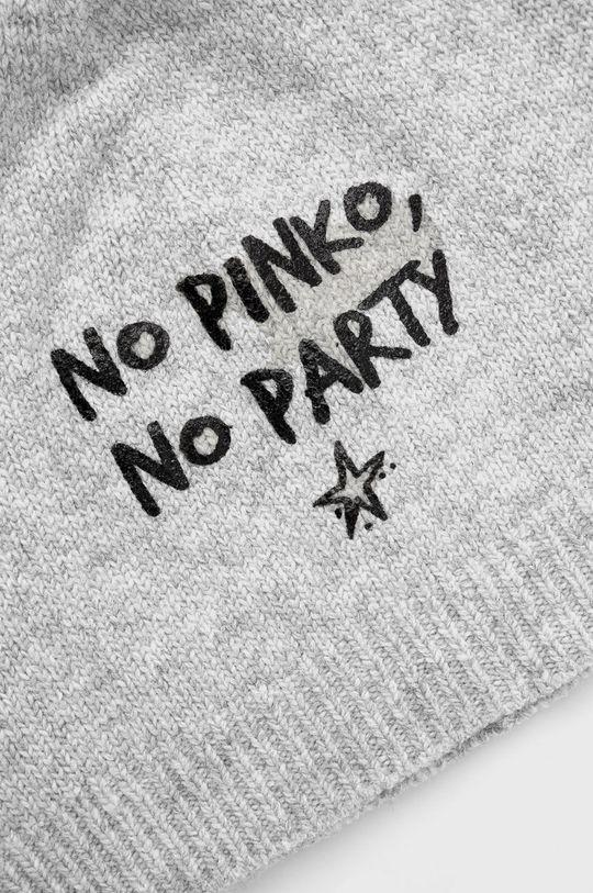 Pinko - Czapka z domieszką wełny 34 % Poliamid, 3 % Poliester, 34 % Wełna, 29 % Wiskoza