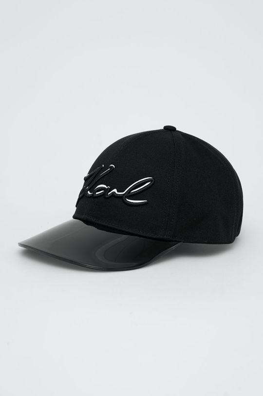 černá Karl Lagerfeld - Kšiltovka Dámský