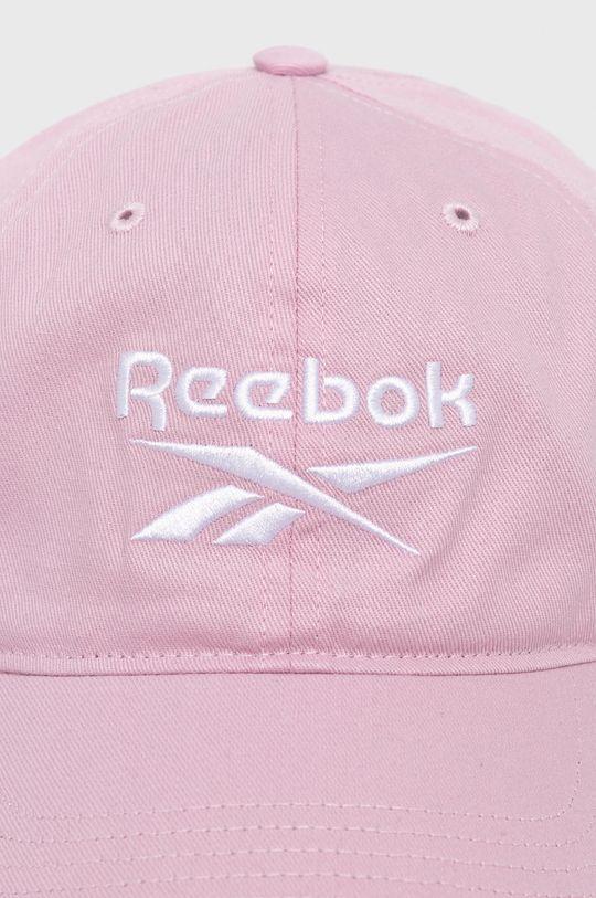 Reebok - Czapka Materiał zasadniczy: 100 % Bawełna, Inne materiały: 100 % Poliester
