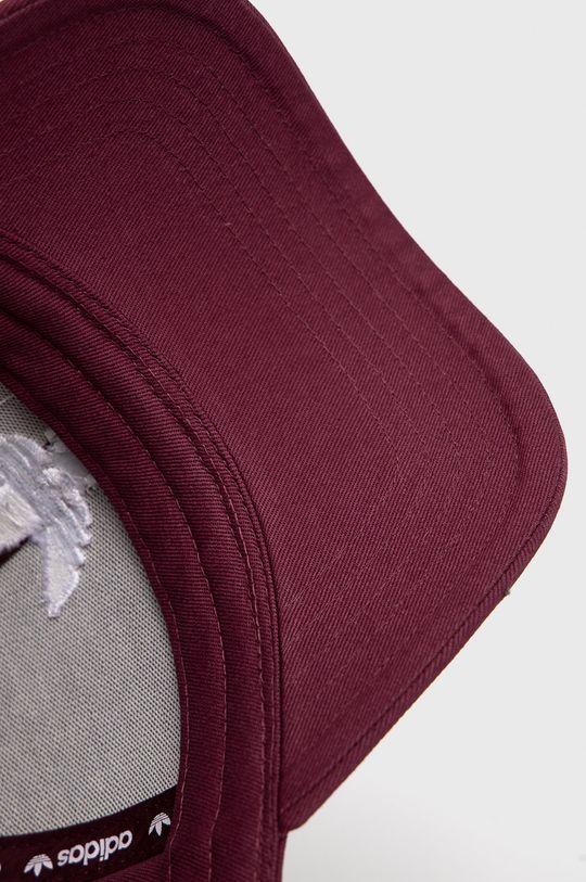 ciemny fioletowy adidas Originals - Czapka