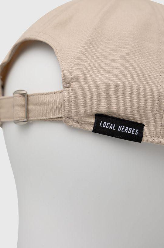 Local Heroes - Czapka z daszkiem beżowy